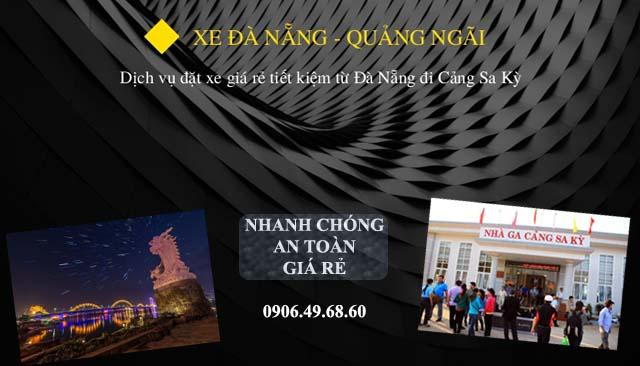xe Đà Nẵng - Cảng Sa Kỳ