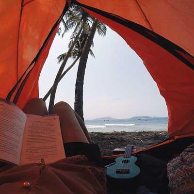 Cắm trại ở Đảo Bé