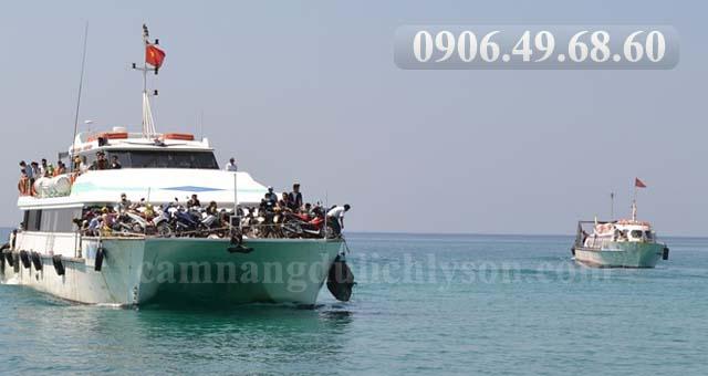 Giảm giá vé tàu cao tốc cho dân Lý Sơn