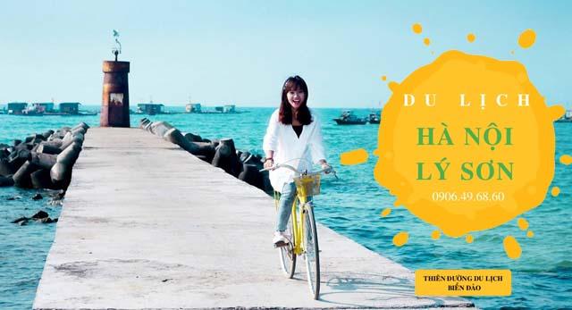 kinh nghiệm du lịch Lý Sơn từ Hà Nội