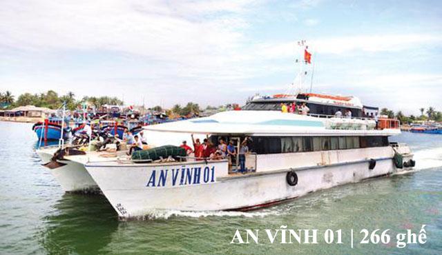 Tàu cao tốc An Vĩnh 01 Lý Sơn