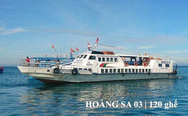 Tàu cao tốc Hoàng Sa 03 Lý Sơn