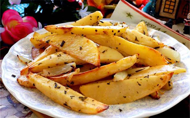 khoai tây chiên nướng bơ tỏi
