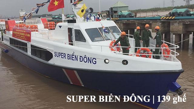 Tàu siêu tốc An super Biển Đông Lý Sơn