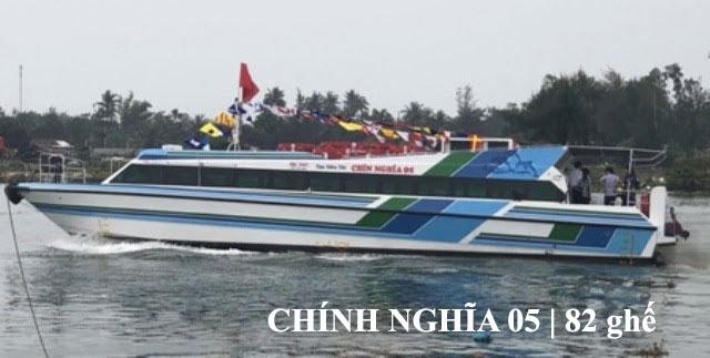 Tàu siêu tốc chĩnh nghĩa 05 Lý Sơn