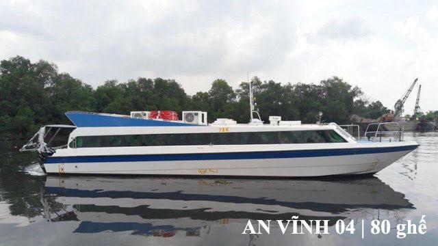 Tàu siêu tốc An Vĩnh 04 Lý Sơn