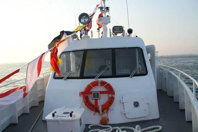 Tàu super Biển Đông Sa Kỳ đi Lý Sơn