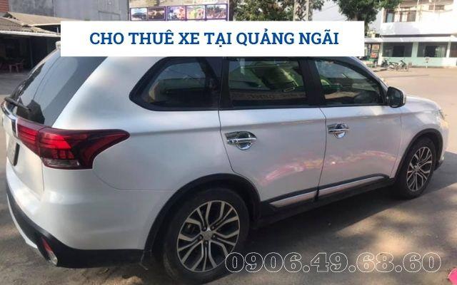 Cho thuê xe tại Quảng Ngãi giá rẻ