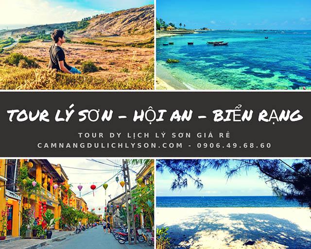Tour du lịch Lý Sơn 3 ngày 3 đêm