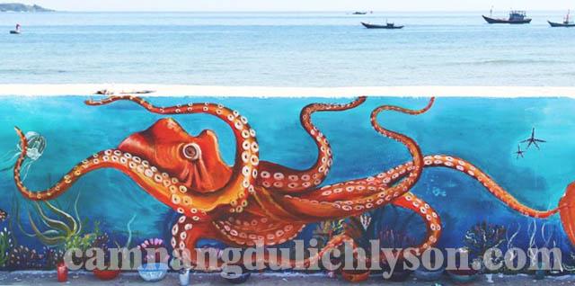 Sinh vật sống sinh động dưới biển