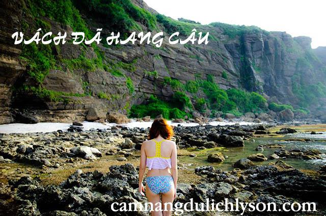 Vách đá Hang Câu