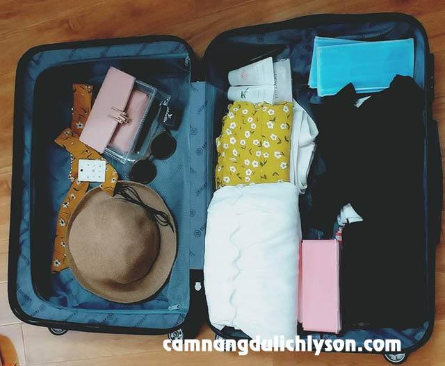Chuẩn bị hành lý du lịch Lý Sơn - Hội An - Đà Nẵng 5 ngày 4 đêm