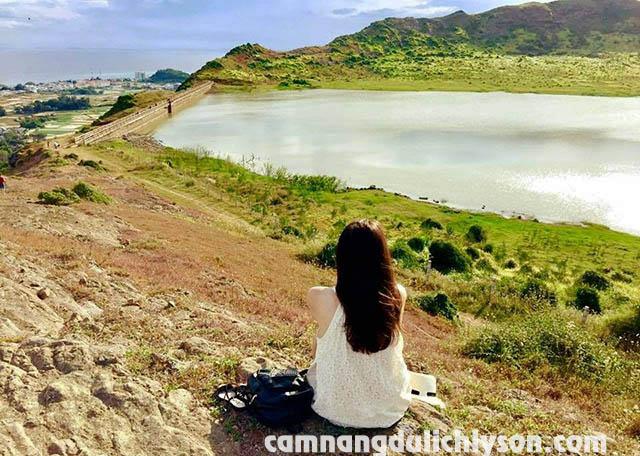 Hồ nước ngọt Núi Thới Lới