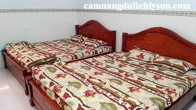 Phòng ở Homestay Thanh Trà Lý Sơn