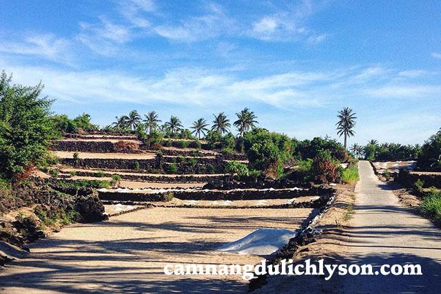 Cung đường ở Đảo Bé