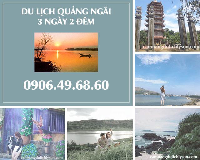 Lịch trình du lịch Quảng Ngãi 3 ngày 2 đêm