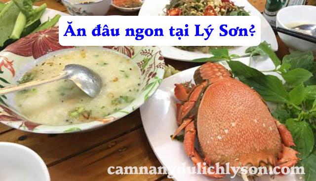 Tổng hợp các quán ăn ngon tại Lý Sơn
