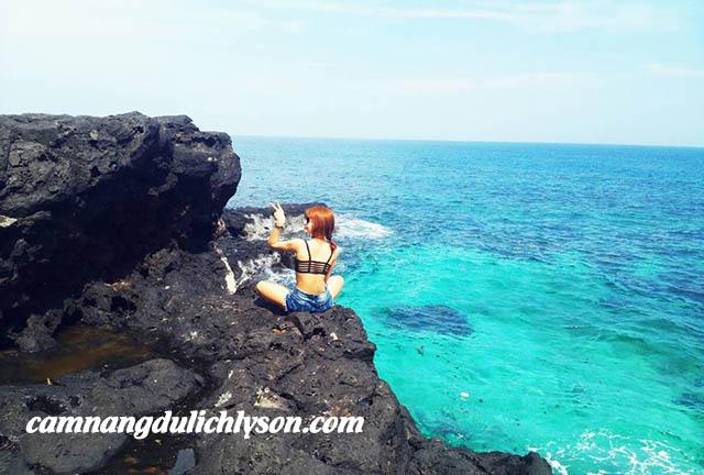 Biển xanh Lý Sơn