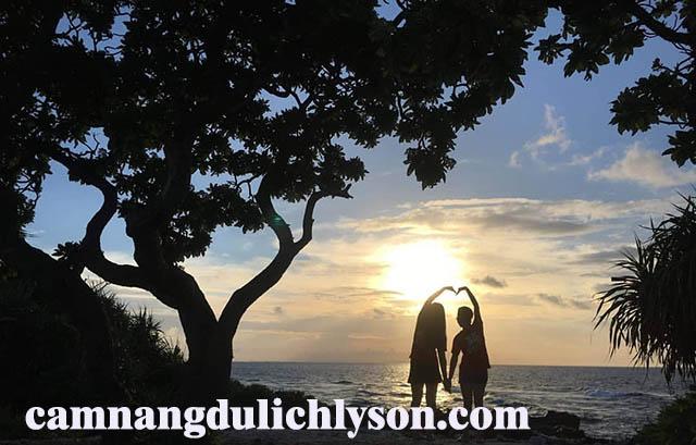 Bãi Tây Đảo Bé Lý Sơn
