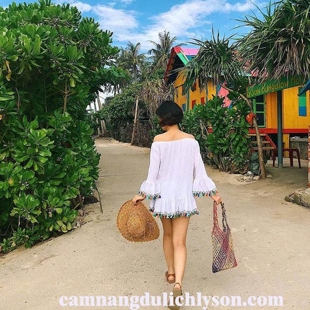 Homestay xinh đẹp tại Đảo Bé
