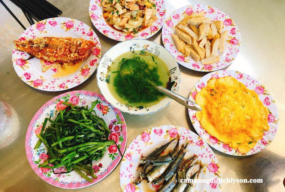 Những món ăn đặc sản tại Lý Sơn
