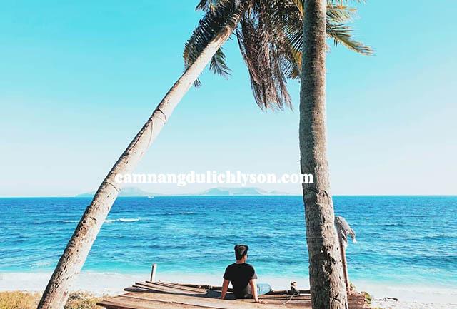 Vùng biển nhớ Lý Sơn