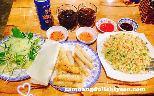 Ăn đêm ram chả cá Lý Sơn