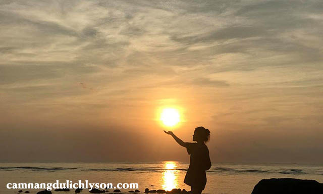 Đón mặt trời tại Lý Sơn