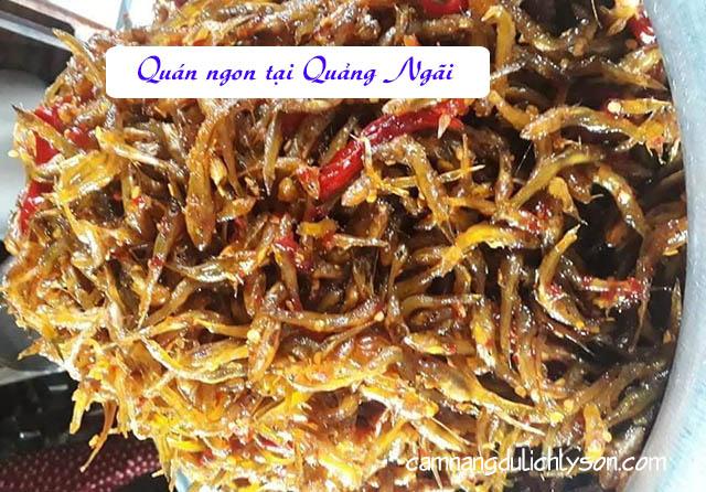 Quán ăn ngon tại Quảng Ngãi