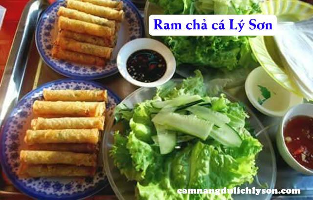 Ram chả cá Lý Sơn