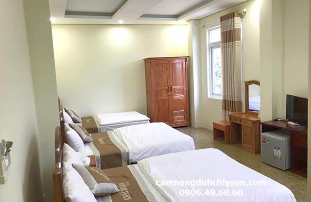 Phòng 3 khách sạn Khải Hoàn
