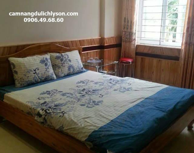 Phòng ngủ khách sạn Song Bình