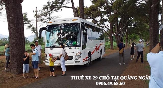 Thuê xe 29 chỗ du lịch tại Quảng Ngãi