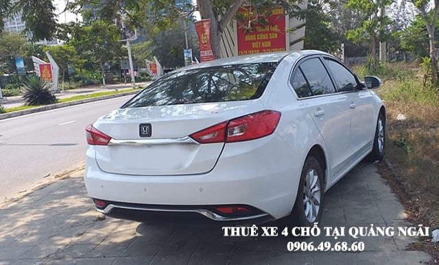 Thuê xe 4 chỗ du lịch tại Quảng Ngãi