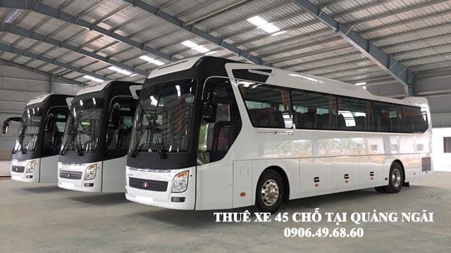 Thuê xe 45 chỗ du lịch tại Quảng Ngãi