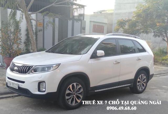 Thuê xe 7 chỗ du lịch tại Quảng Ngãi