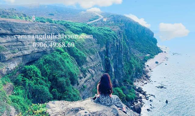 Đi du lịch bụi Lý Sơn
