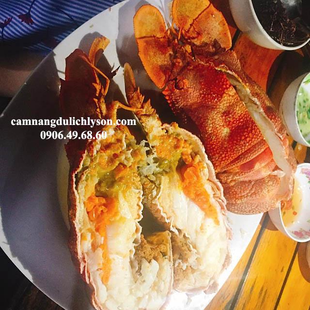 Đi Lý Sơn ăn hải sản là rẻ nhất