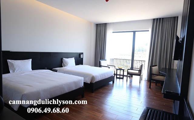 Phòng Deluxe Twin khách sạn Đảo Ngọc Lý Sơn