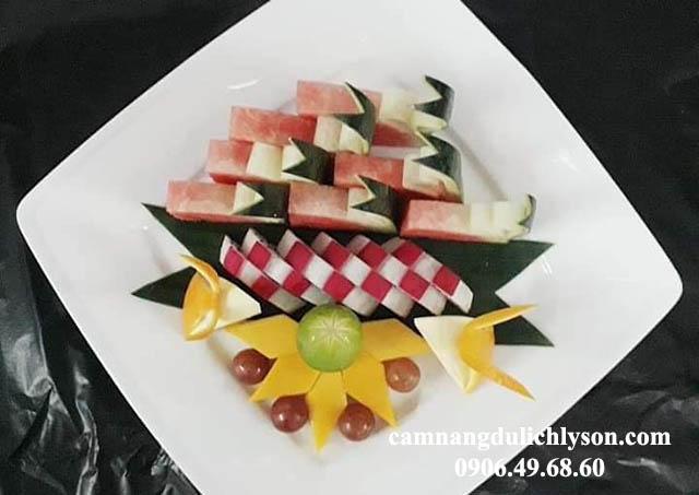 Trái cây tại khách sạn Đảo Ngọc Lý Sơn