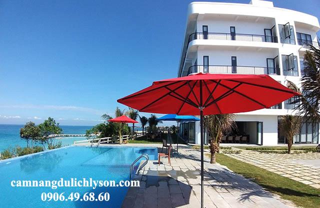 Bể bơi vô cực khách sạn Đảo Ngọc Lý Sơn