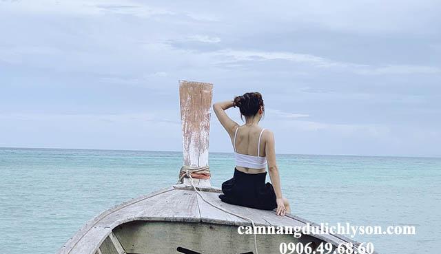 Đảo Bé Lý Sơn gây ấn tượng mạnh cho du khách