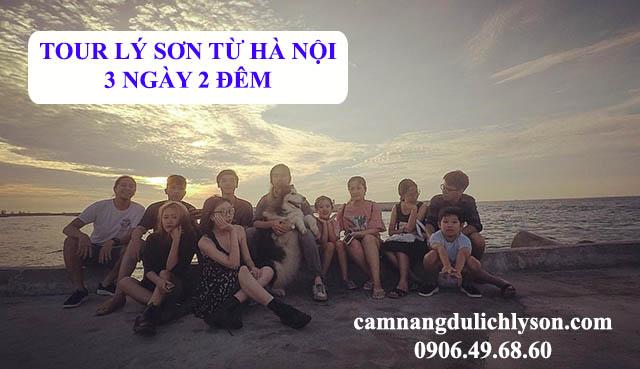 Tour Lý Sơn từ Hà Nội 3 ngày 2 đêm