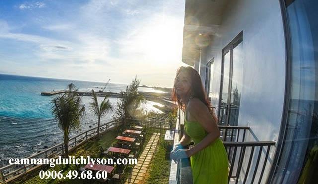 View khách sạn Đảo Ngọc