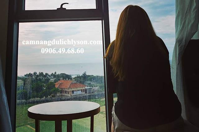 View khách sạn Mường Thanh Lý Sơn