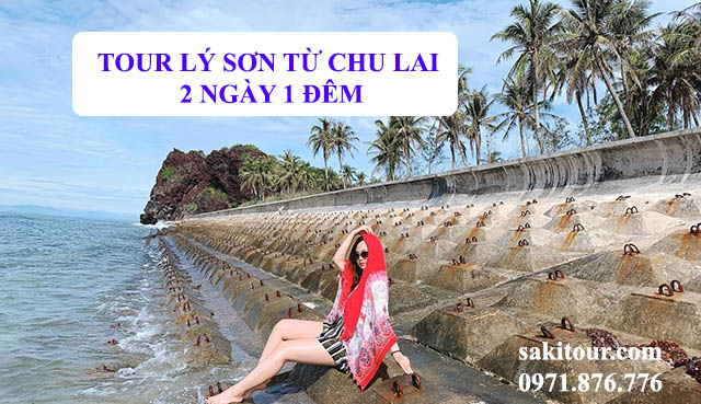 Tour Lý Sơn từ Chu Lai 2 ngày 1 đêm