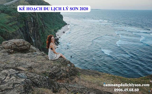Kế hoạch du lịch Lý Sơn 2020