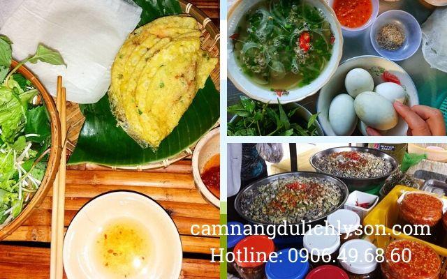 Các món ăn đặc sản Quảng Ngãi