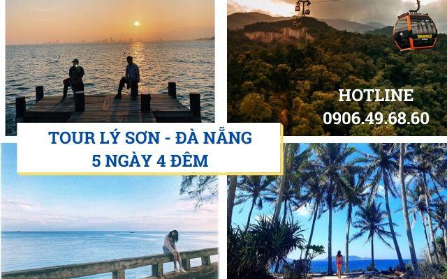 Tour Lý Sơn - Đà Nẵng 5 ngày 4 đêm